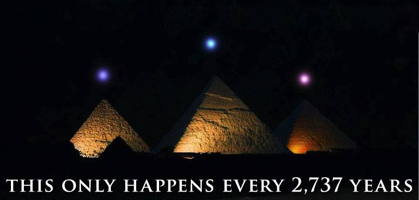 planetary alignment in Egypt